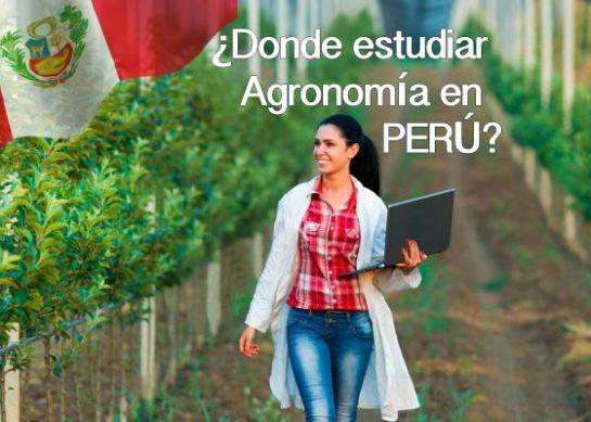 ¿Donde estudiar Agronomía en Perú?